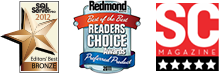 Redmond Magazine Readers Choice Winner Award 2011 that Netwrix SQL Server Change Reporter received as Best SQL Tool