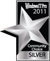 Windows IT Pro 2011 Community Choice Silver Award (Best System Utility)