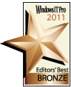Windows IT Pro 2011 Editors' Best Bronze Award (Best Management Suite)