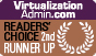 VirtualizationAdmin.com Readers' Choice Award of 2011, received by Netwrix VMware Change Reporter as second runner up in the Virtualization Security category.