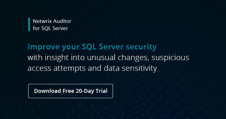 SQL Server Security Best Practices