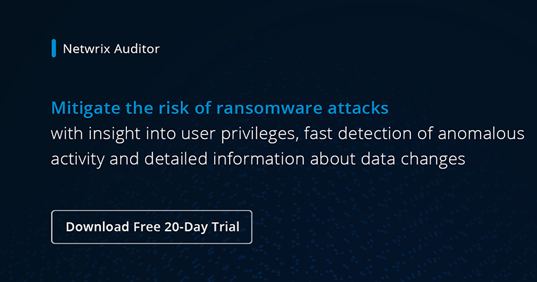 Prevent Ransomware Infections Best Practices