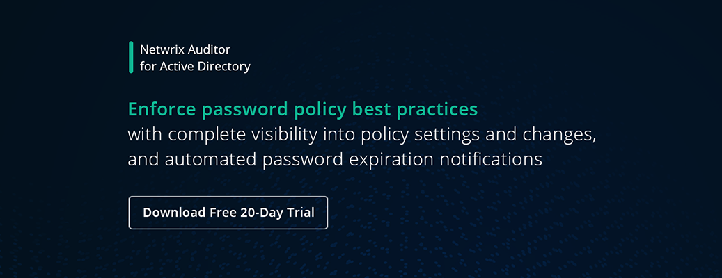 Best Practices to Manage and Setup Password Policy