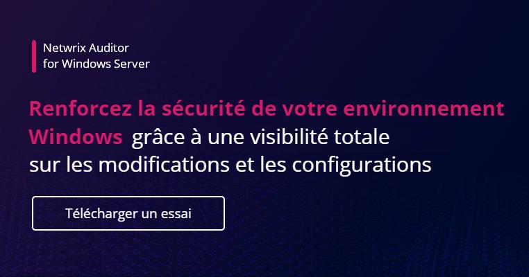 Checklist de renforcement de la sécurité de Windows Server- banner image