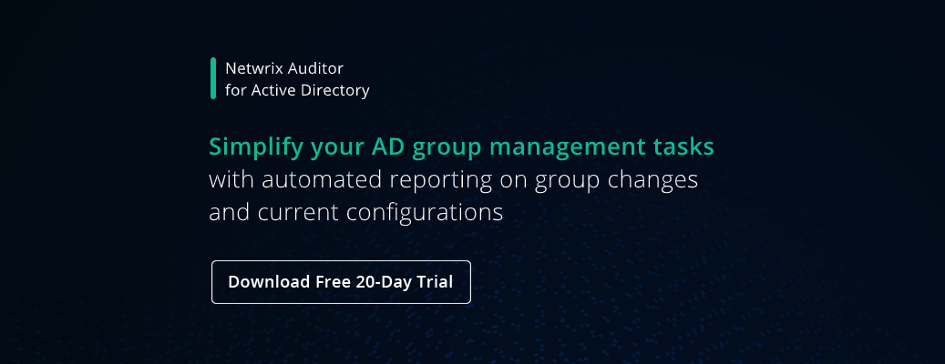 Active Directory Group Management Best Practices- banner image