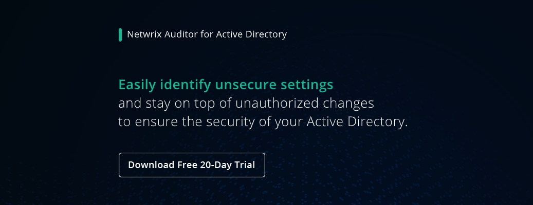 Active Directory Security Best Practices- banner image