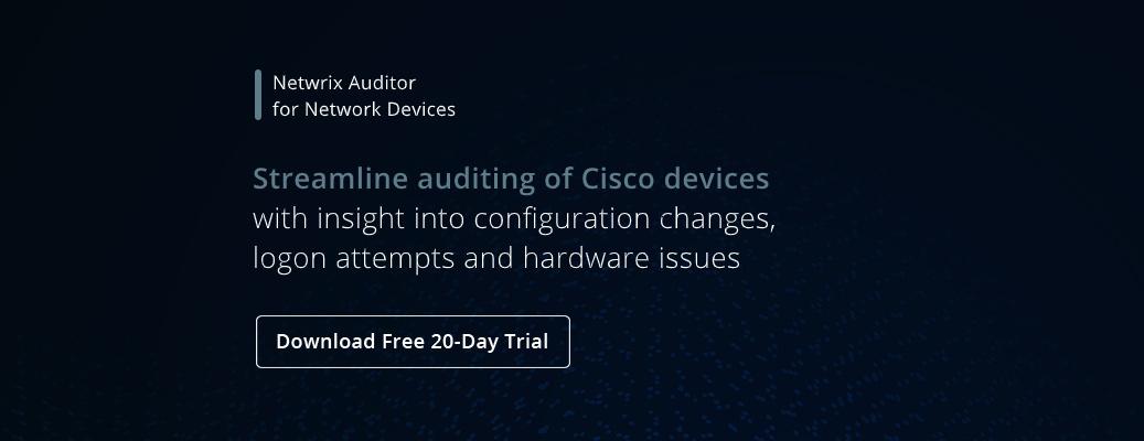 Cisco Commands Cheat Sheet - banner image