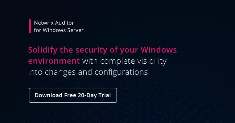 Windows Server Hardening Checklist- banner image