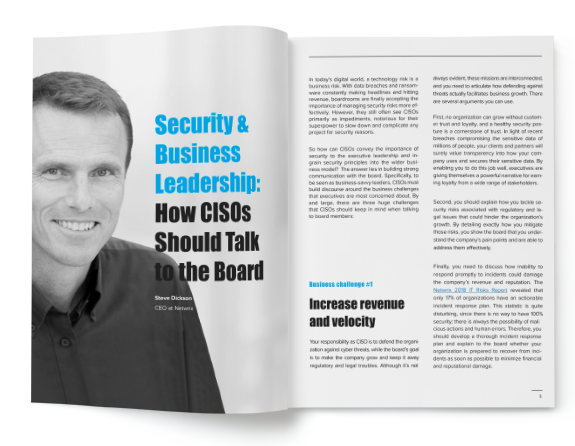We Need to Talk: Improving CISO-Board Communication