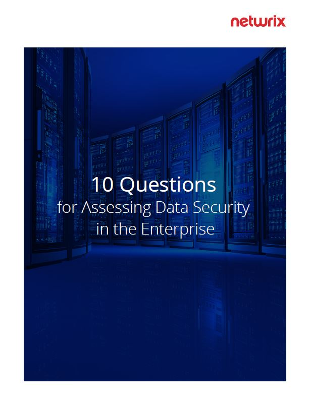 10 Questions for Assessing Data Security in the Enterprise
