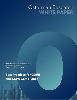 Best Practices for GDPR and CCPA Compliance