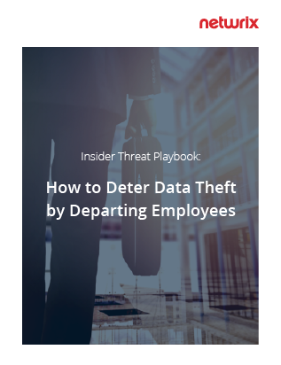 Insider Threat Playbook: How to Deter Data Theft by Departing Employees