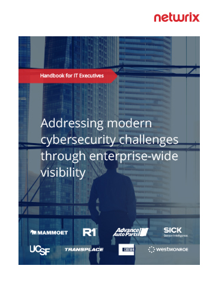 Addressing Modern Cybersecurity Challenges through Enterprise-Wide Visibility