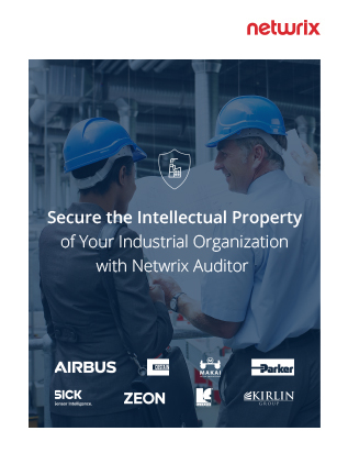 Secure the Intellectual Property of Your Industrial Organization