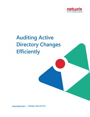 Auditing Active Directory Changes Efficiently