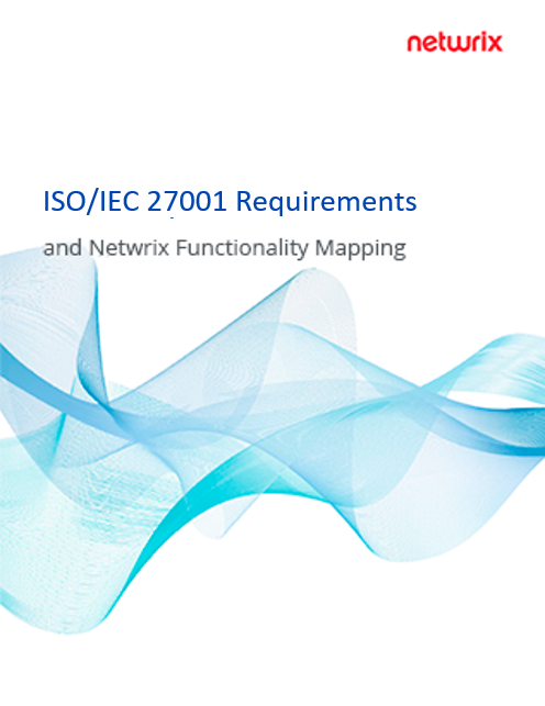 ISO 27001 Requirements and Netwrix Functionality Mapping