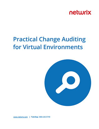 Practical Change Auditing for Virtual Environments