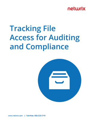 Track File Access for Auditing and Compliance