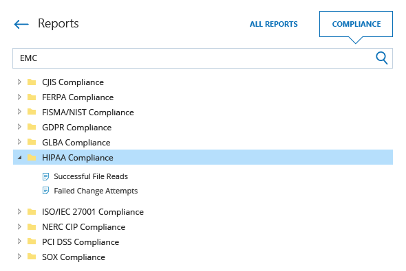 Streamline compliance reporting