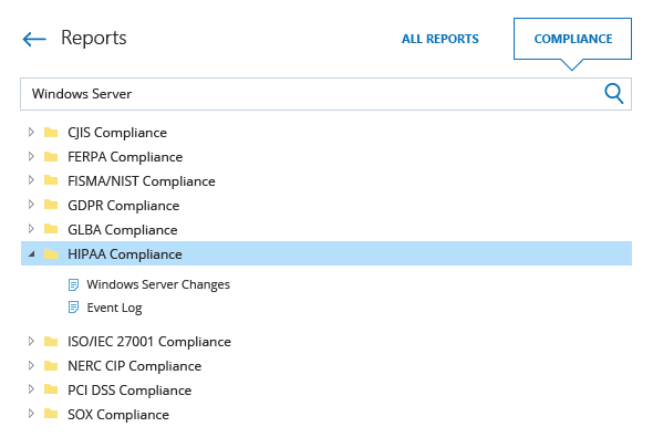 Prepare Windows Server compliance reports faster