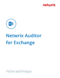 Netwrix Auditor for SharePoint et Exchange