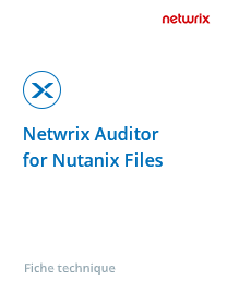 Netwrix Auditor for Nutanix Files