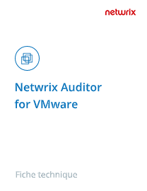 Netwrix Auditor for VMware