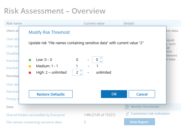 Perform IT Risk Assessment to Improve Your Security Posture Screenshot