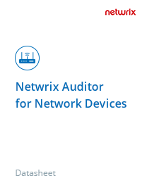 Netwrix Auditor for Network Devices