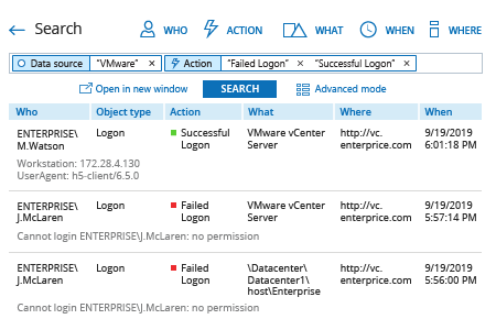How to Detect Failed Logon Attempts to VMware with Netwrix Auditor