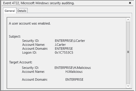 Sample Report - How to Detect Who Enabled a User Account in Active Directory