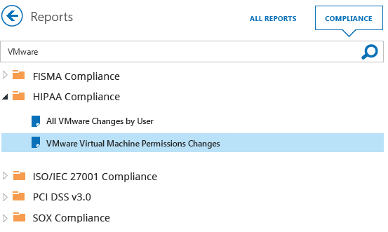 Enable VMware monitoring and reporting to meet compliance requirements