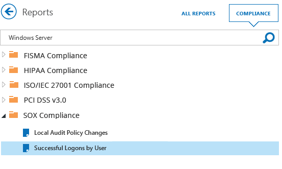 Detect and report server configuration changes to prove compliance