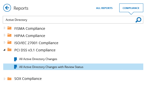 Streamline Active Directory compliance reporting