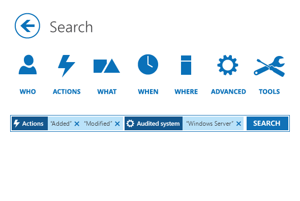 Look into security issues in Windows servers with Interactive Search