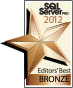 SQL Server Pro Editors Best and Community Choice Award of 2012: Netwrix SQL Server Change Reporter was nominated and voted as Best Security/Auditing/Compliance Product.