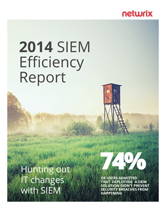 2014 SIEM Efficiency Report