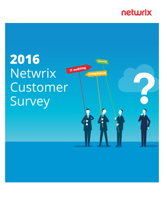 2016 Netwrix Customer Survey