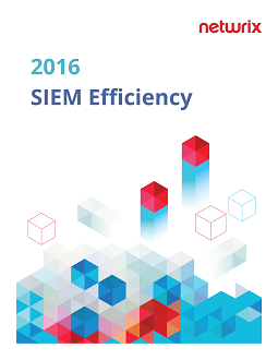 2016 SIEM Efficiency Survey Report