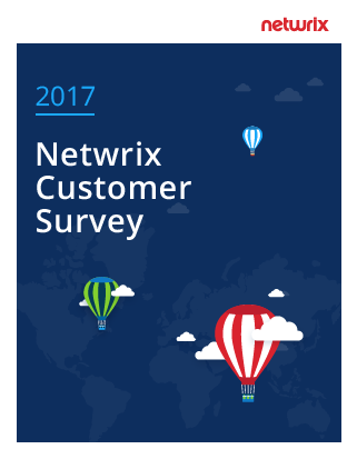 2017 Netwrix Customer Survey