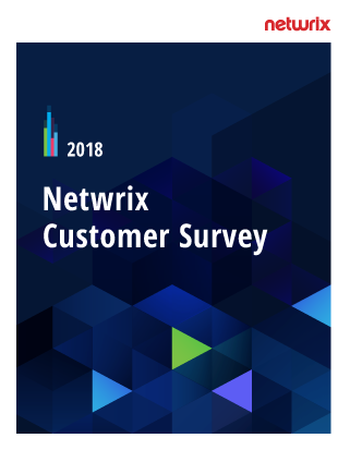 2018 Netwrix Customer Survey Report