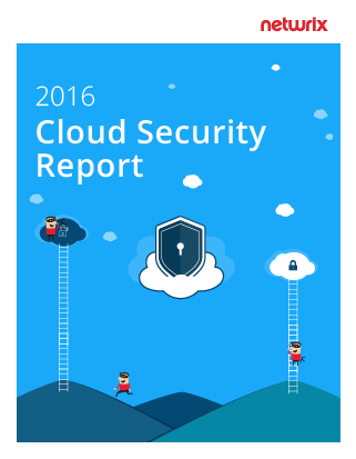 2016 Netwrix Cloud Security Report