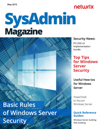 Basic Rules of Windows Server Security