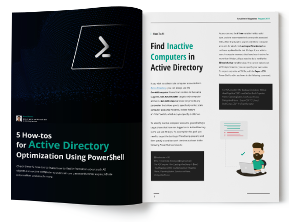 Active Directory: Tame the Beast