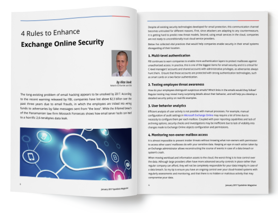 On Your Way to the Cloud: Exchange Online