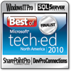 Windows IT Pro Best Of TechEd Award of 2010