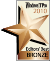 Windows IT Pro Editors' Best Award of 2010